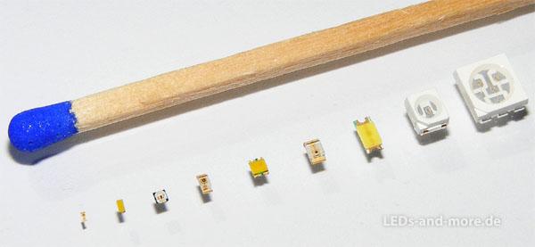 SMD LEDs in allen größen
